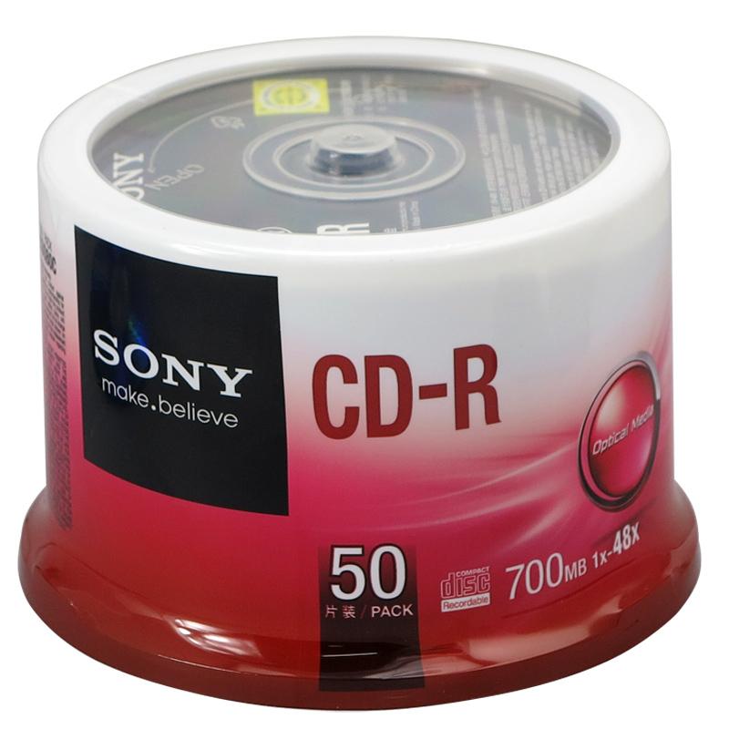 上海录像带转光盘_索尼 CD-R 50片/筒 700MB 光盘【报价 价格】上海中也——专业的办公 ...
